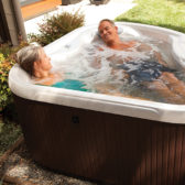 Small hot tubs for a compact garden