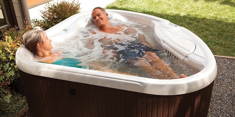 Small hot tubs for a compact garden - HotSpring Hot Tubs