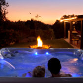 Where to put your outdoor hot tub