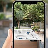 Virtual View AR App - From HotSpring Spas