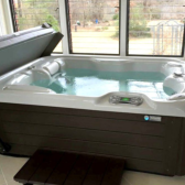 Tips for installing a HotSpring hot tub indoors